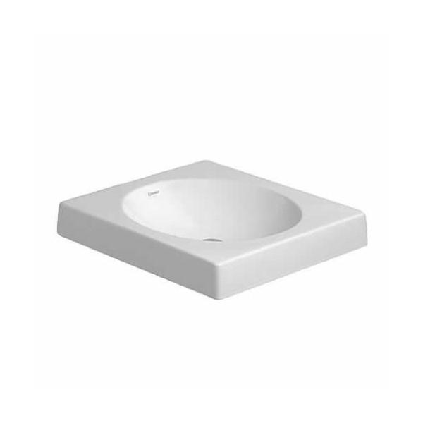 Duravit Architec umywalka nablatowa 500x500 mm bez otworu na baterię