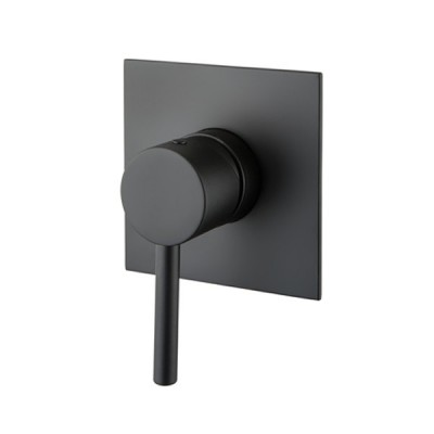 M&Z MZ-Expo bateria prysznicowa podtynkowa czarna