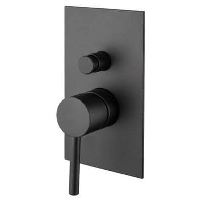 M&Z MZ-Expo bateria wannowo-prysznicowa podtynkowa czarna