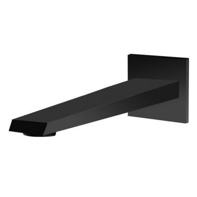 Vedo Sette Black wylewka wannowa 18 cm czarna
