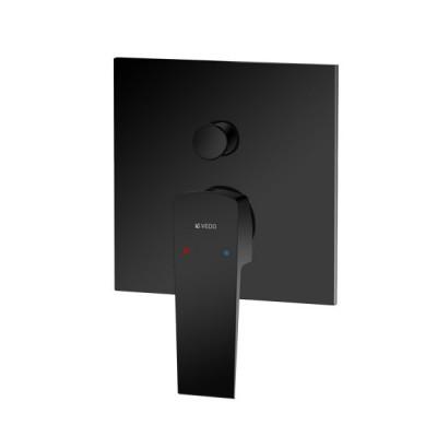 Vedo Sette Black bateria wannowo-prysznicowa podtynkowa czarna