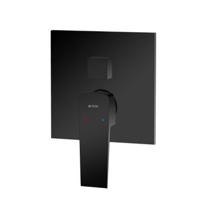 Vedo Sette Black bateria wannowo-prysznicowa podtynkowa 3 wyjścia czarna