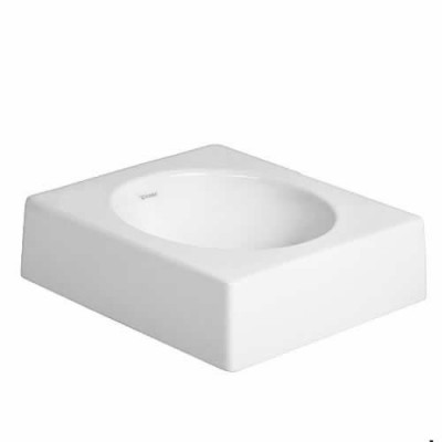 Duravit Architec umywalka nablatowa 450x450 mm bez otworu na baterię