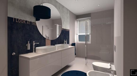 Łazienka w pastelach