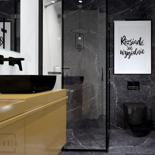 Czarna łazienka: 4 niezbędne akcesoria i najlepsze aranżacje
