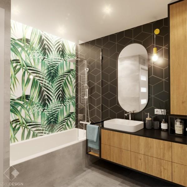 Łazienka w naturalnym stylu