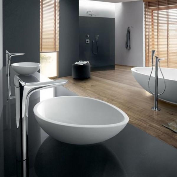 Elegancki salon kąpielowy z bateriami i dodatkami łazienkowymi Kludi Ambienta!