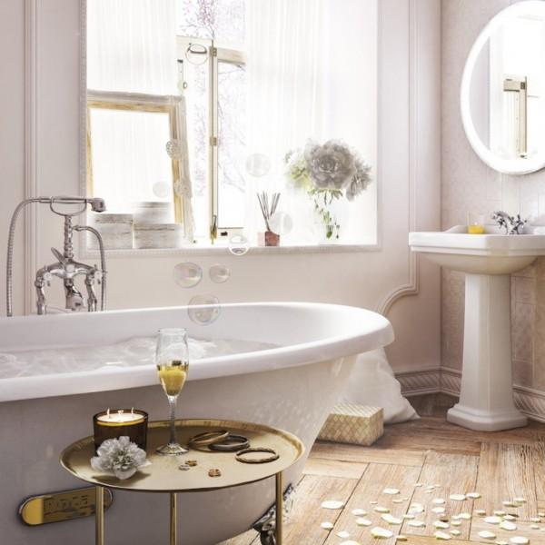 Retro łazienka, czyli inspiracje łazienkowe z serią Roca Carmen!
