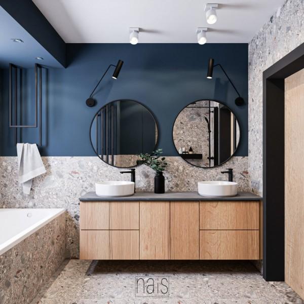 Projekt łazienki w stylu industrialnym!